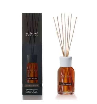 diff.stick 250ml.vanilla&wood millefiori