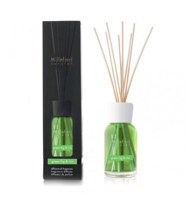 diff.stick 250ml.green fig&iris millefiori