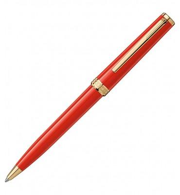 montblanc penna a sfera pix red
